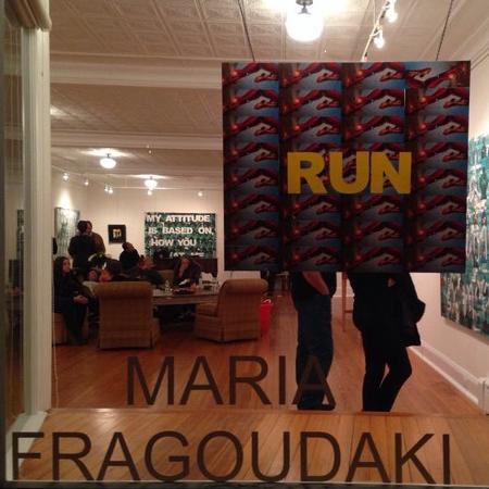 Maria Fragoudaki Show 4 N Main Gallery Southampton New York