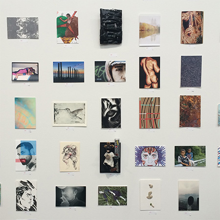 Maria Fragoudaki group show Postcards from the Edge Luhring Augustine NYC