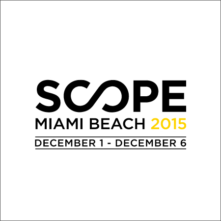Maria Fragoudaki group show scope miami beach art show