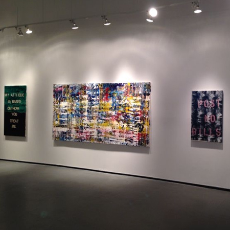 Maria Fragoudaki Show One Art Space Gallery New York