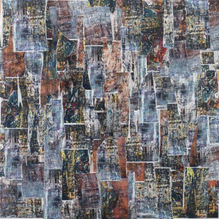 Maria Fragoudaki Abstract Art Series Collage