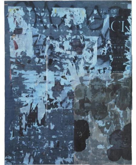Maria Fragoudaki Abstract Art Series Collage - Mixed Media